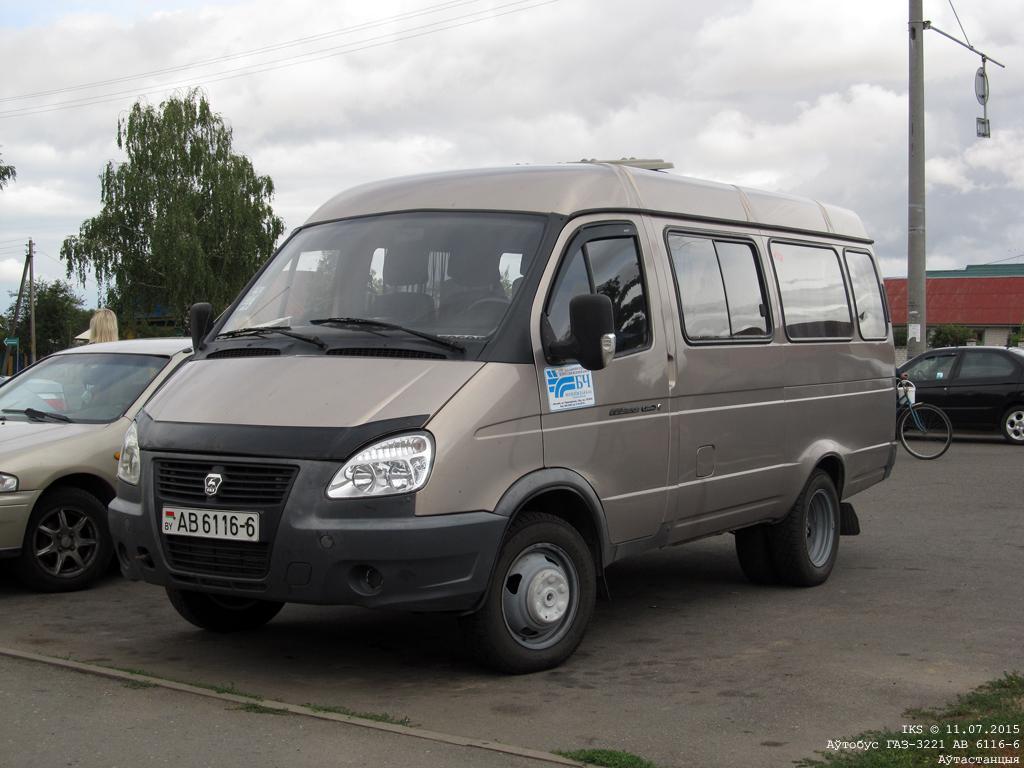 Bobruisk, GAZ-3221* # АВ 6116-6
