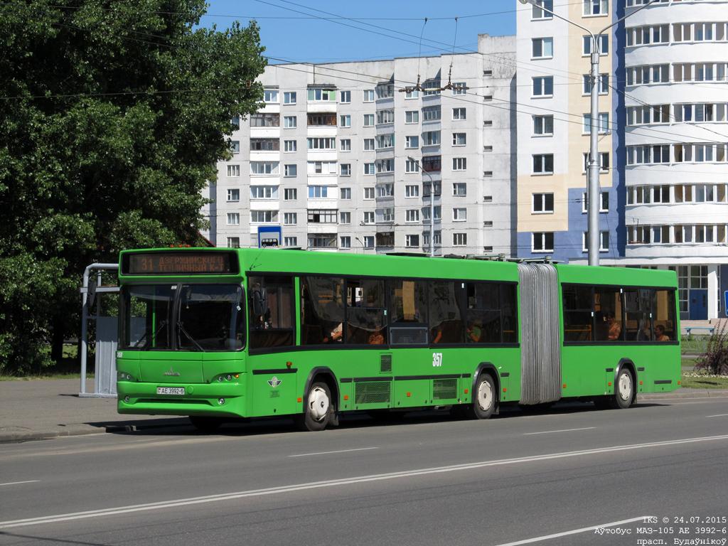 Bobruisk, MAZ-105.465 # 357