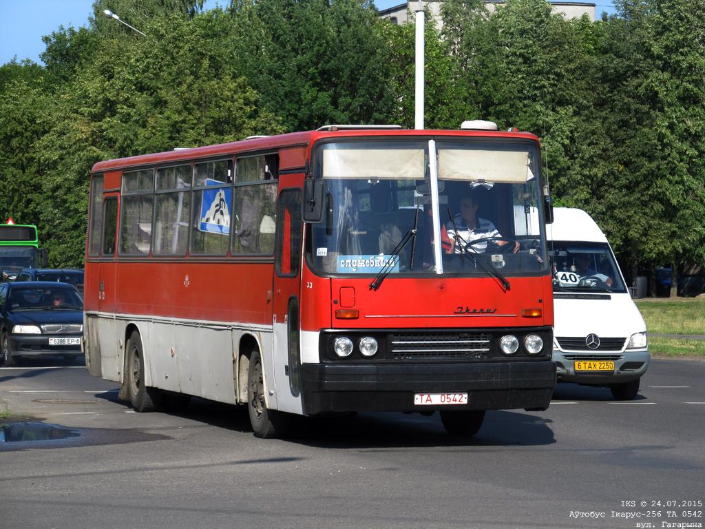 Bobruisk, Ikarus 256.** # 33