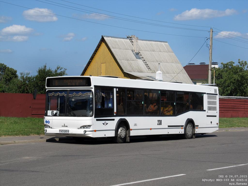 Bobruisk, MAZ-103.485 # 238