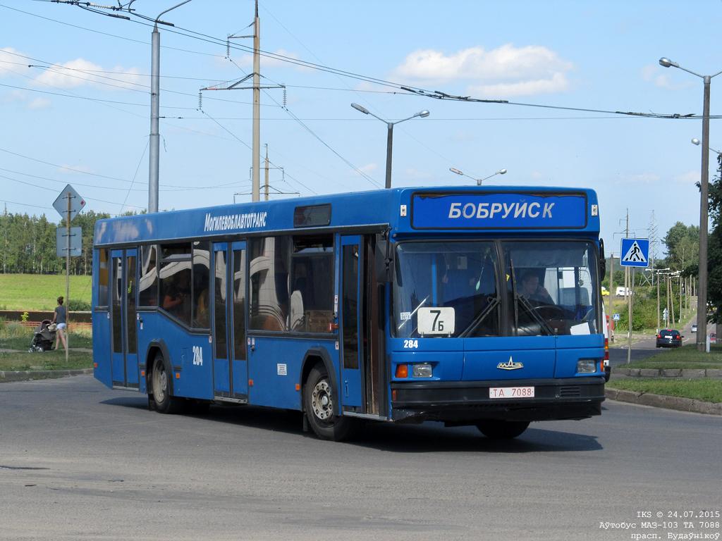 Bobruisk, MAZ-103.065 # 284