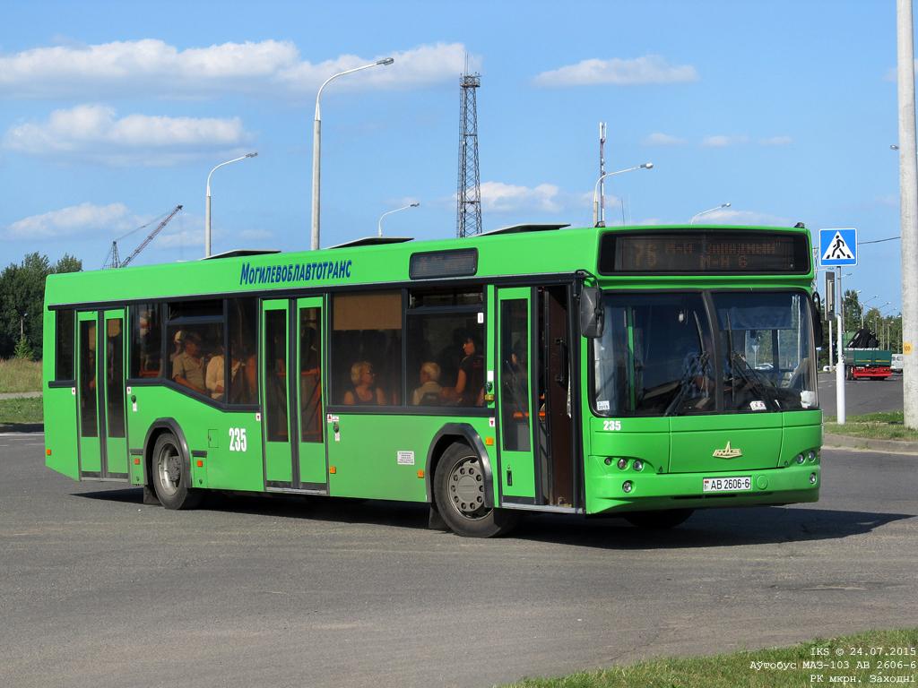 Bobruisk, MAZ-103.465 # 235