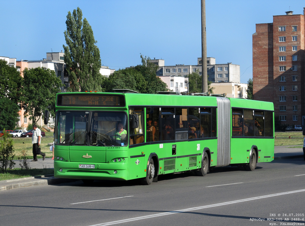 Bobruisk, MAZ-105.465 # 361
