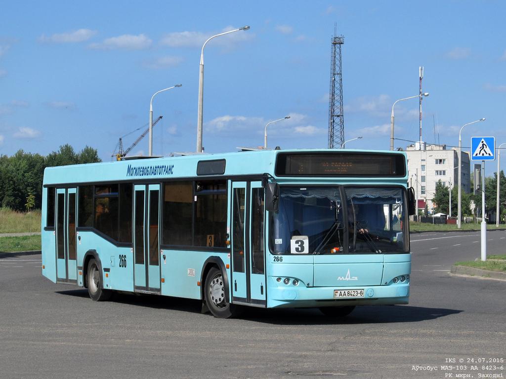 Bobruisk, MAZ-103.465 # 266