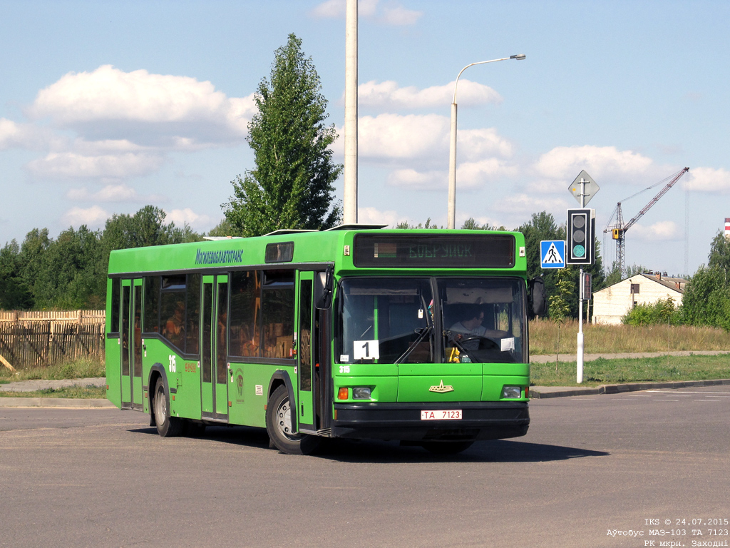 Bobruisk, MAZ-103.065 # 315
