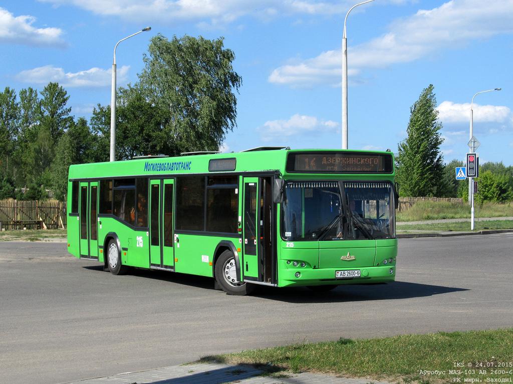 Bobruisk, MAZ-103.465 # 215