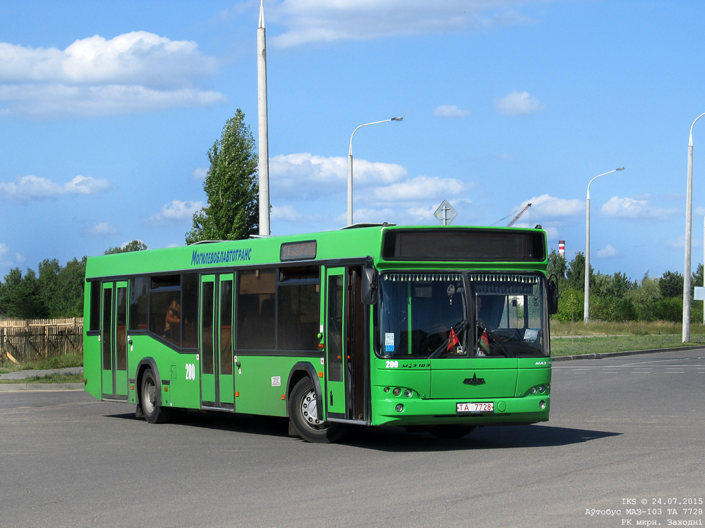 Bobruisk, MAZ-103.465 # 200