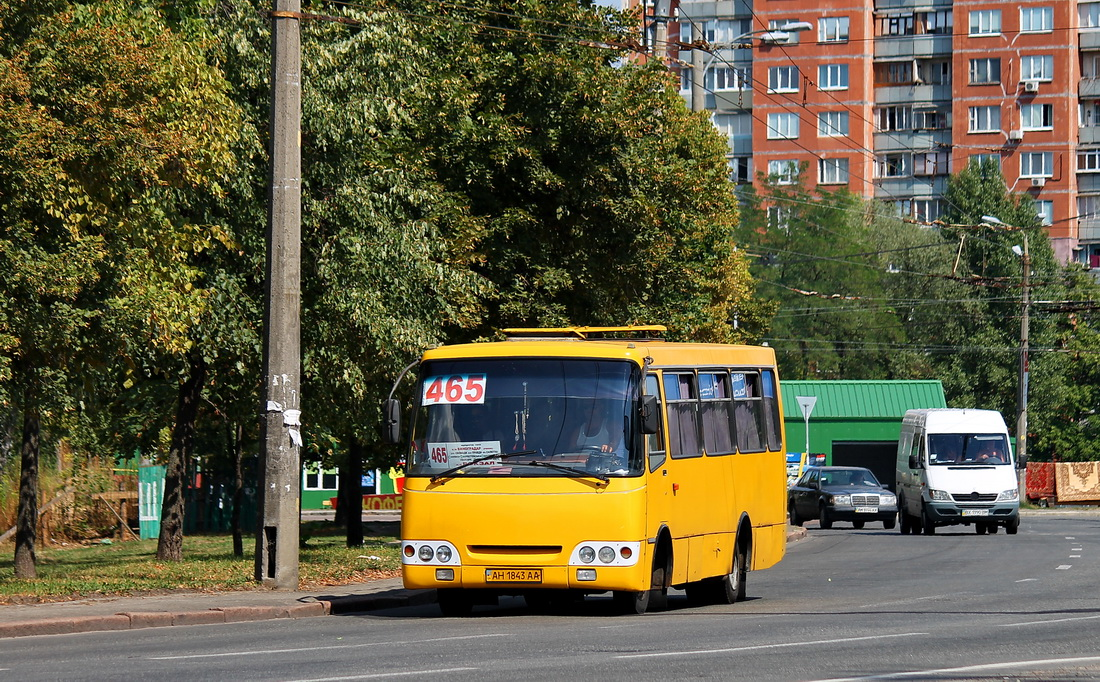 Kyiv, Bogdan А09201 # АН 1843 АА