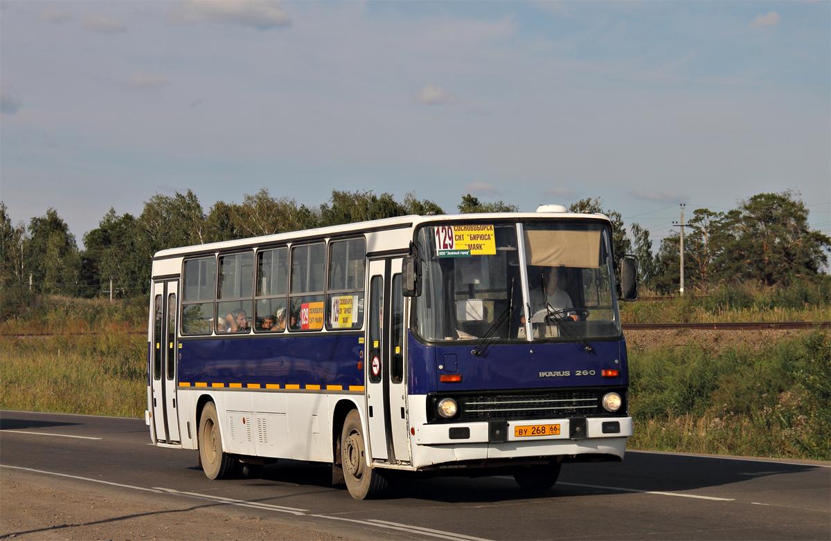 Sosnovoborsk, Ikarus 260.51F # ВУ 268 66