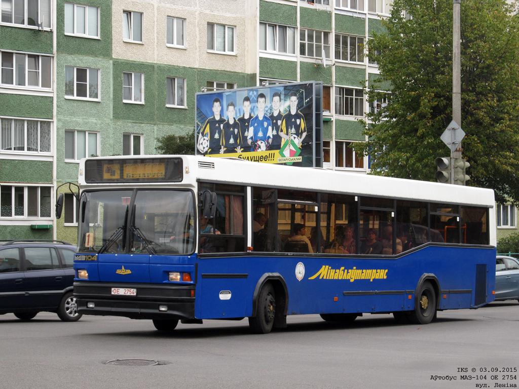 Soligorsk, MAZ-104.021 # 010952