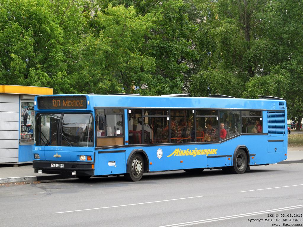 Soligorsk, MAZ-103.062 # 011223