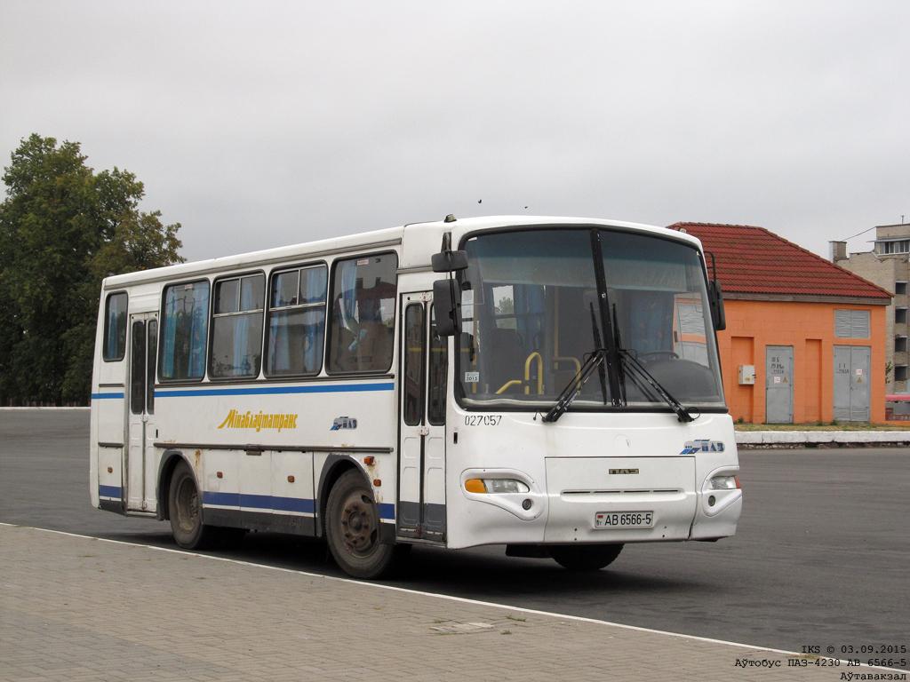 Soligorsk, PAZ-4230 Aurora # 027057