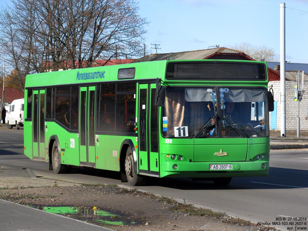 Bobruisk, MAZ-103.465 # 320