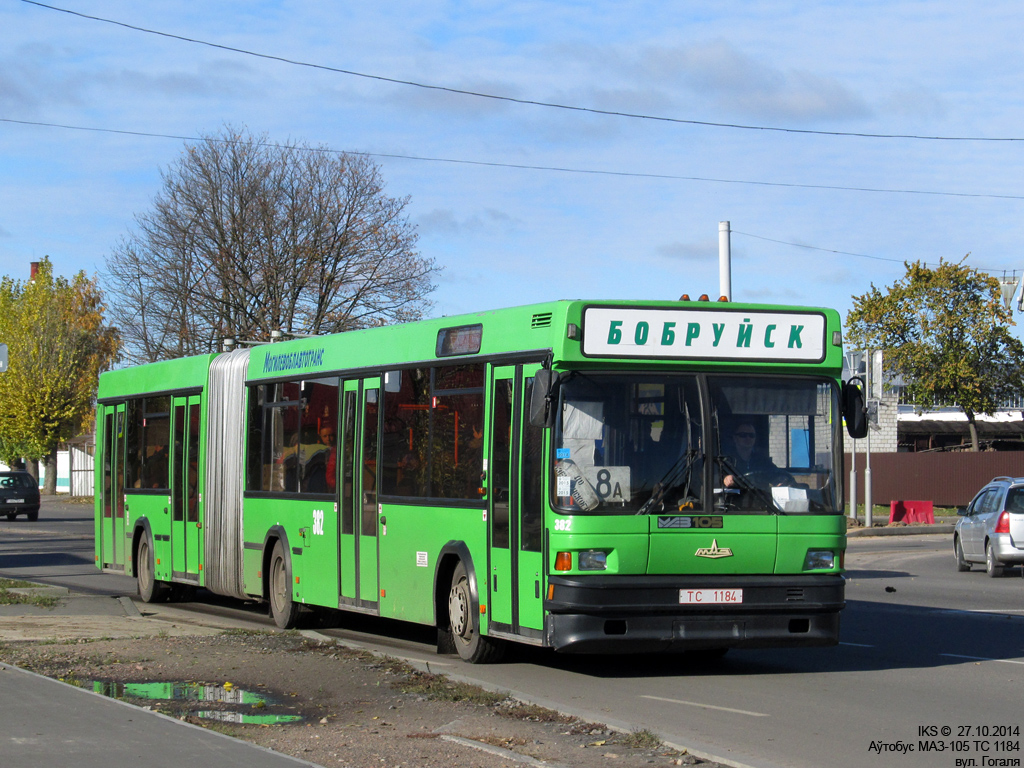 Bobruisk, MAZ-105.060 # 382
