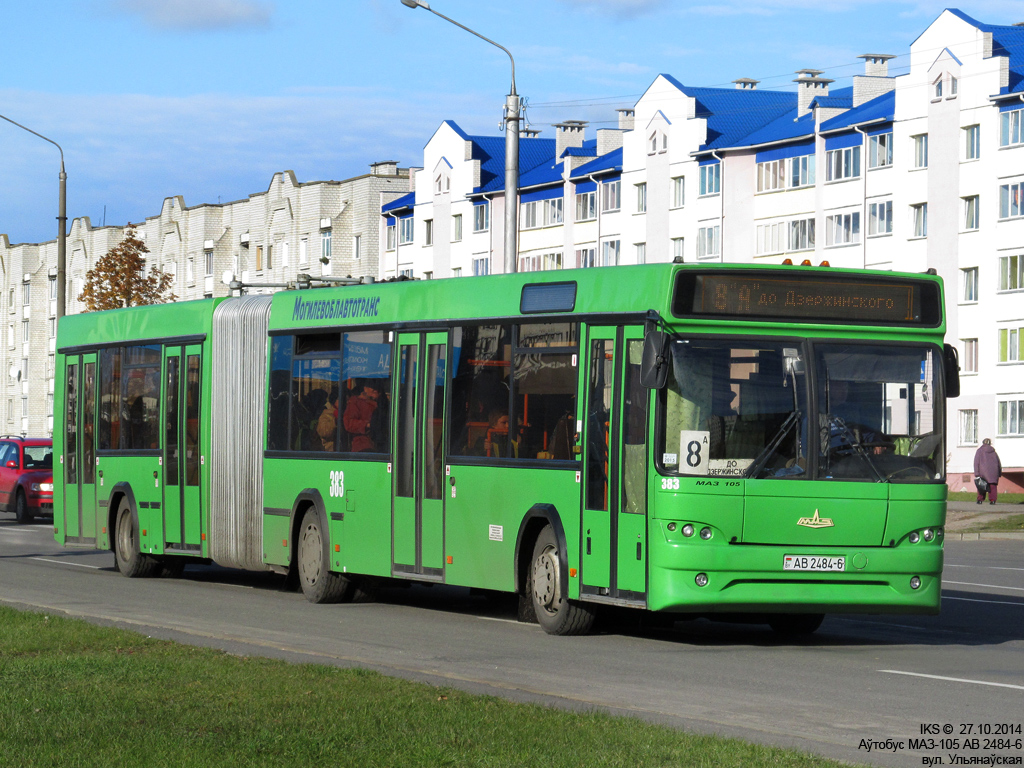 Bobruisk, MAZ-105.465 # 383