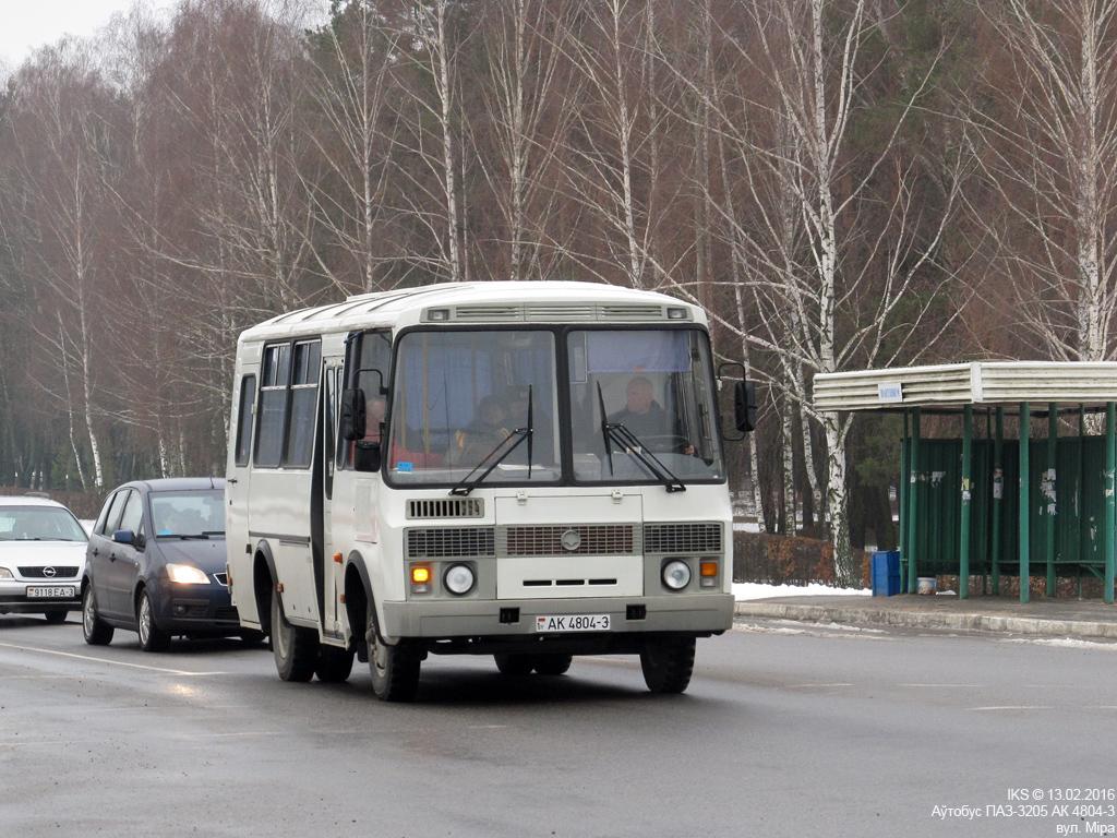 Mozyr, ПАЗ-РАП-3205* # АК 4804-3