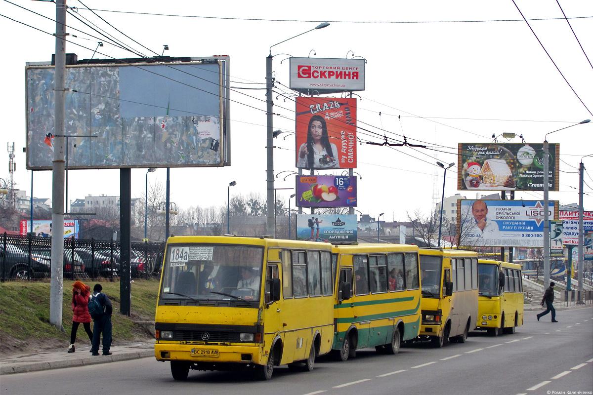 """Lviv, BAZ-А079.14 """"Эталон"""" # ВС 2910 АА"""