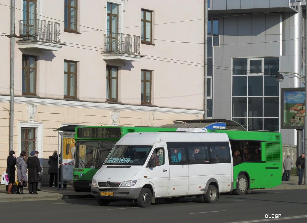 Minsk, Mercedes-Benz Sprinter 411CDI # 7ТЕХ3652