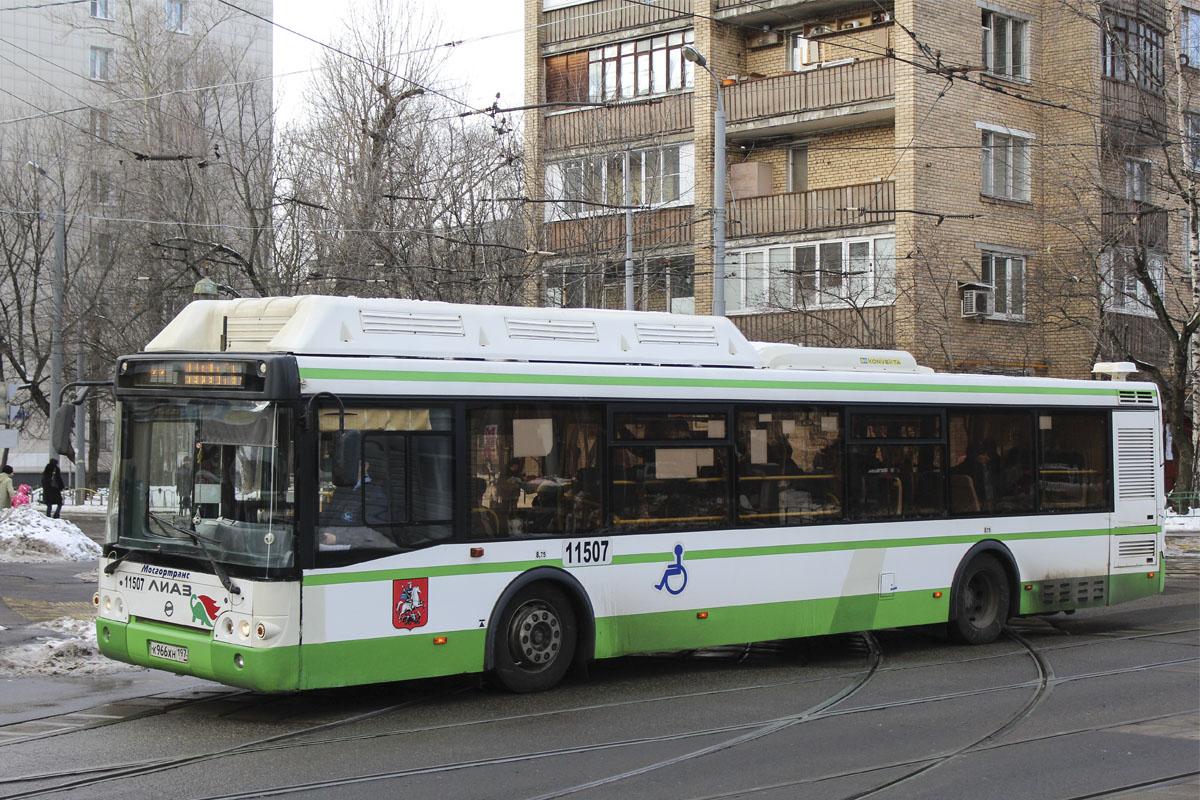 Moscow, LiAZ-5292.71 # 11507