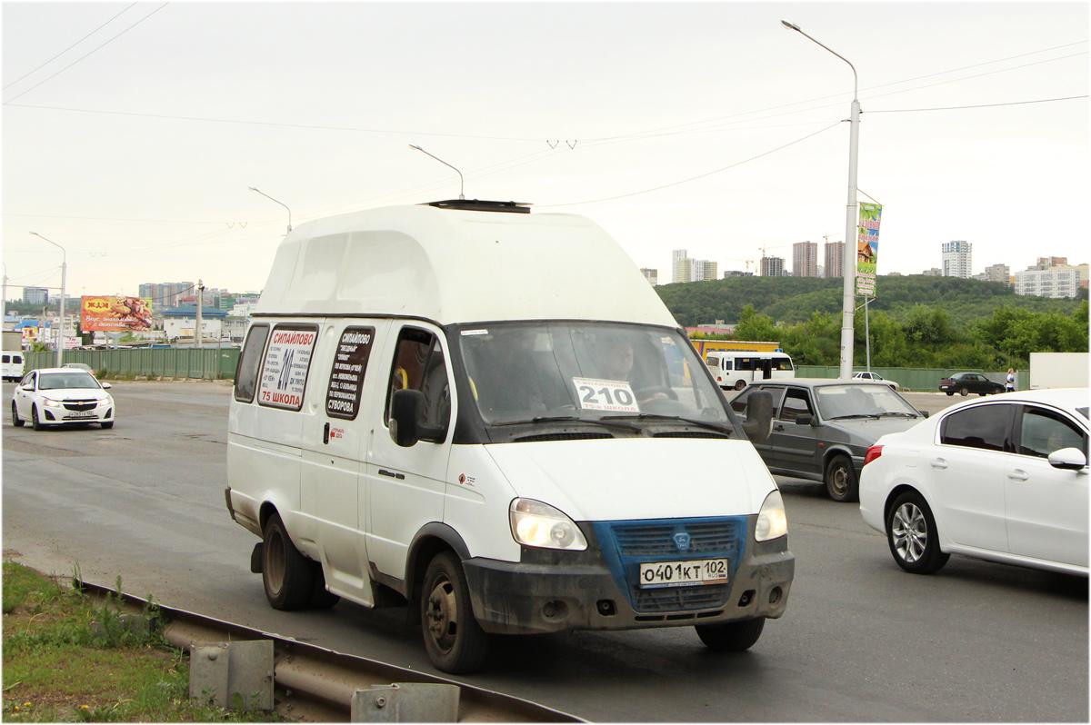 Ufa, Luidor-225000 (GAZ-322133) # О 401 КТ 102