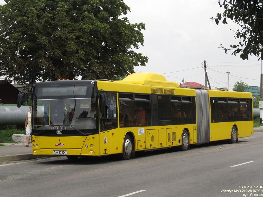Pinsk, MAZ-215.069 # 45225