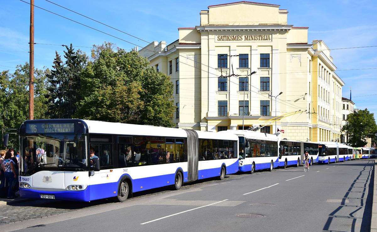Riga, Solaris Urbino II 18 # 79687