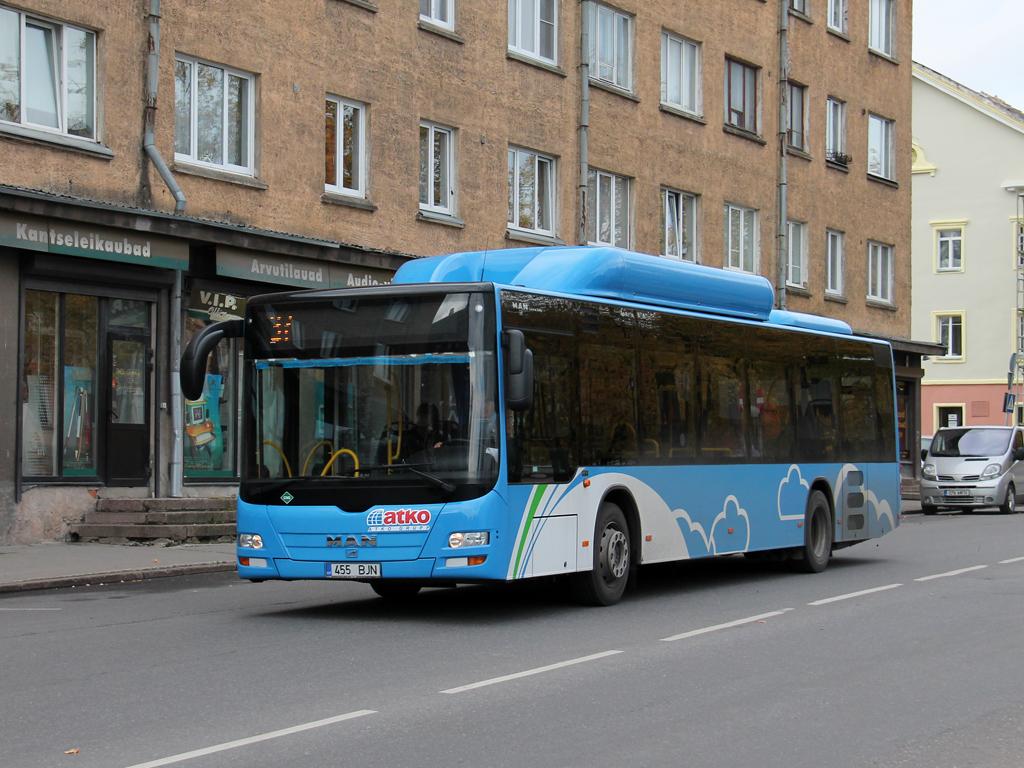 Narva, MAN A21 Lion's City NL313 CNG # 455 BJN
