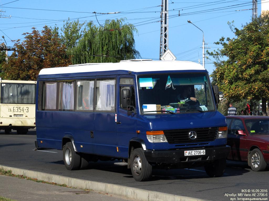 Bobruisk, Mercedes-Benz Vario # АЕ 2706-6