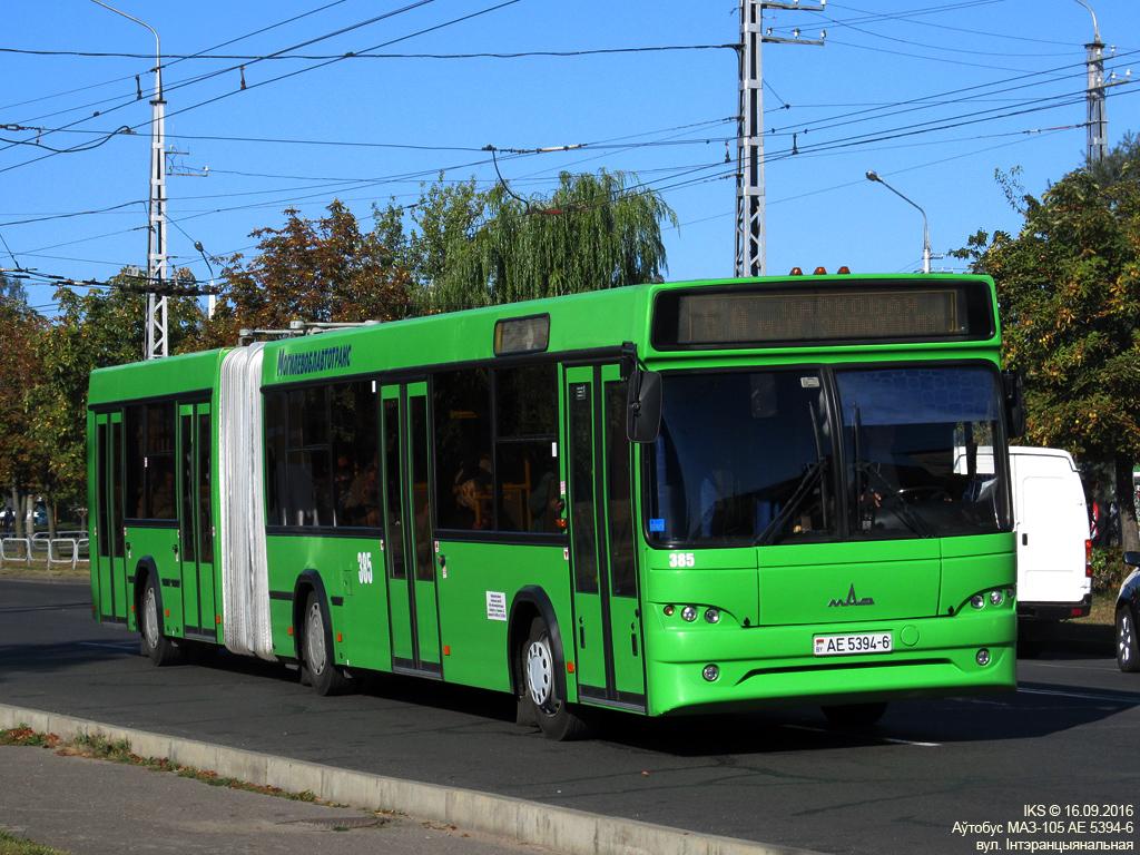 Bobruisk, MAZ-105.465 # 385