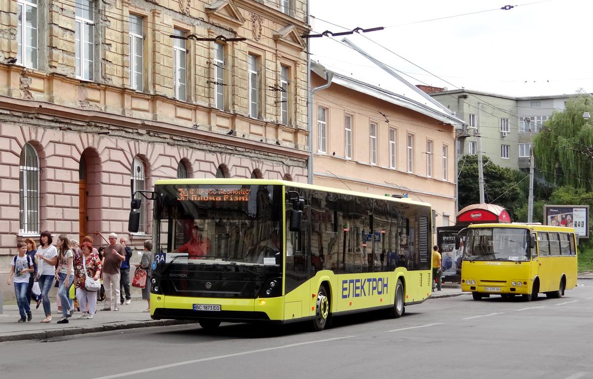 Lviv, Electron A18501 # ВС 1873 ЕО