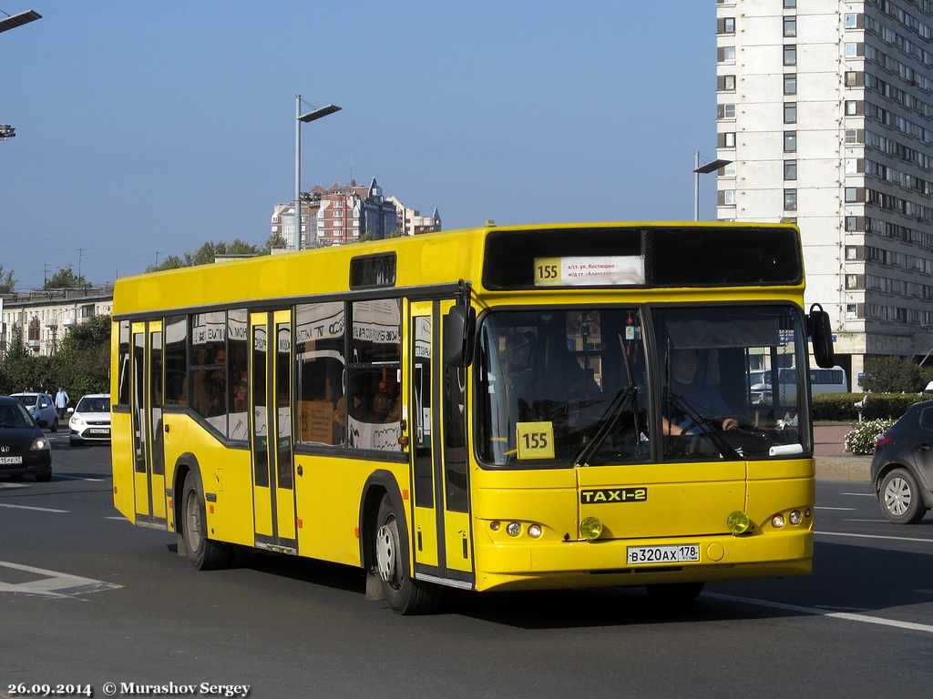 Saint Petersburg, MAZ-103.465 # В 320 АХ 178