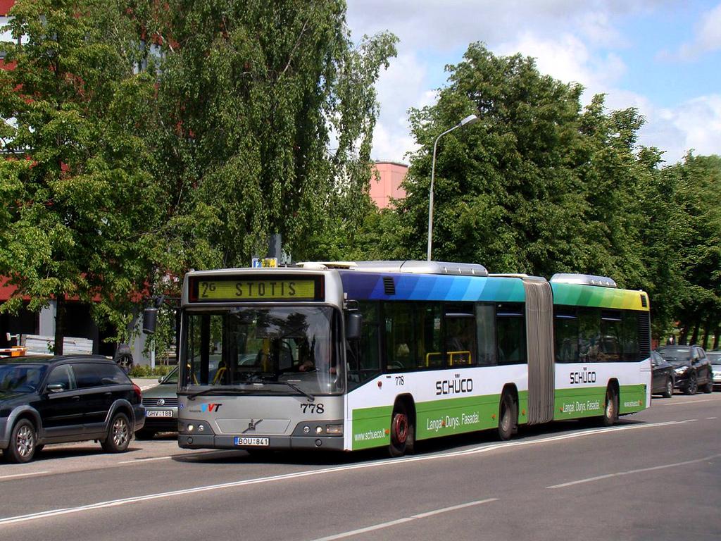 Vilnius, Volvo 7700A # 778