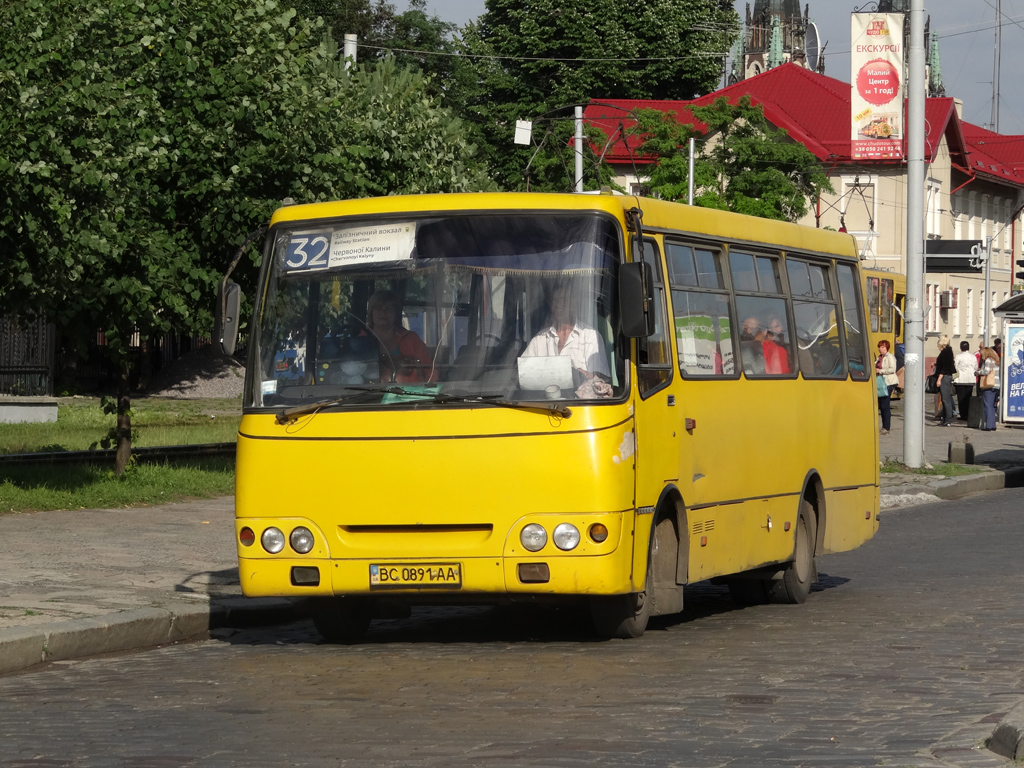 Lviv, Bogdan А09201 # ВС 0891 АА