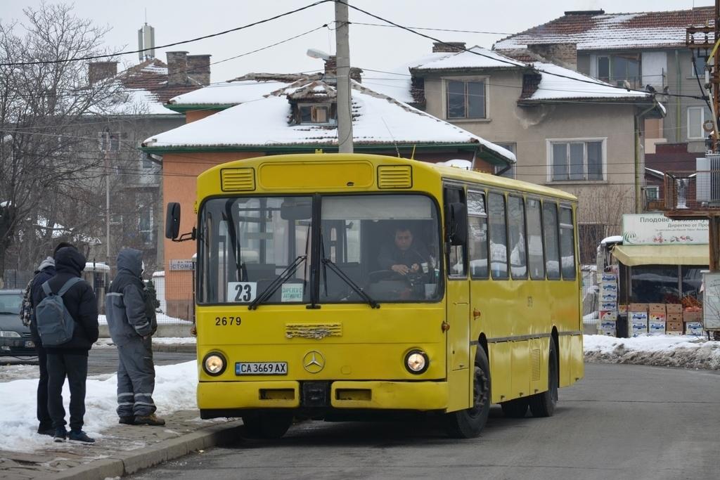 Sofia, Mercedes-Benz O305 # 2679