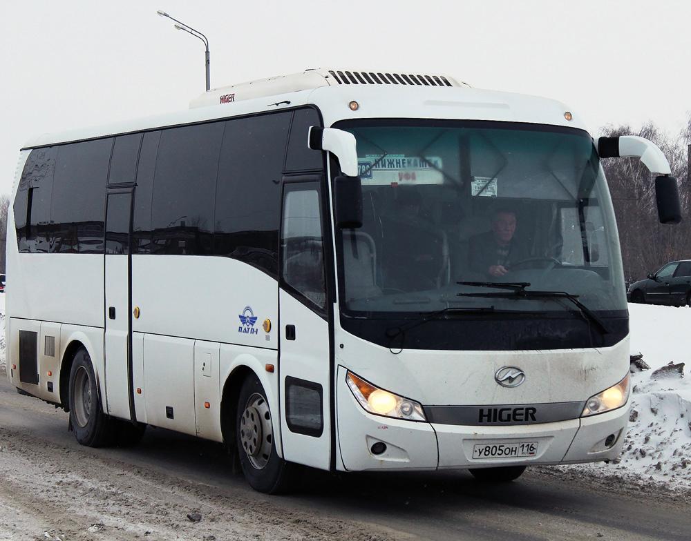 Nizhnekamsk, Higer KLQ6928Q # У 805 ОН 116