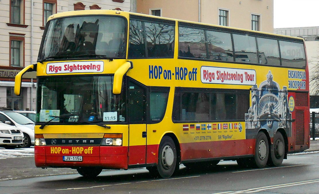 Riga, Setra S328DT # JV-1154