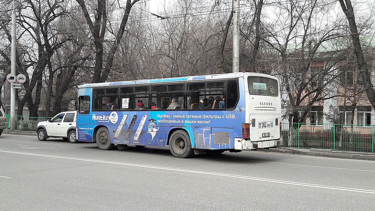 Almaty, Daewoo BS090 (СемАЗ) # 362 CM 02