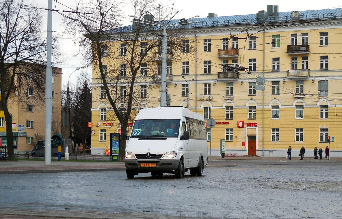 Vitebsk, Luidor-223237 (MB Sprinter Classic 411CDI) # 2ТАХ5707