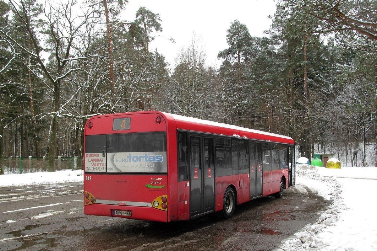 Kaunas, Solaris Urbino II 12 # 613
