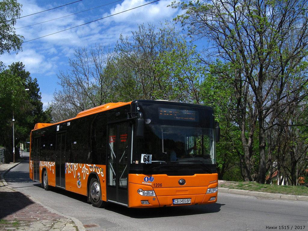 Sofia, Yutong ZK6126HGA # 1206