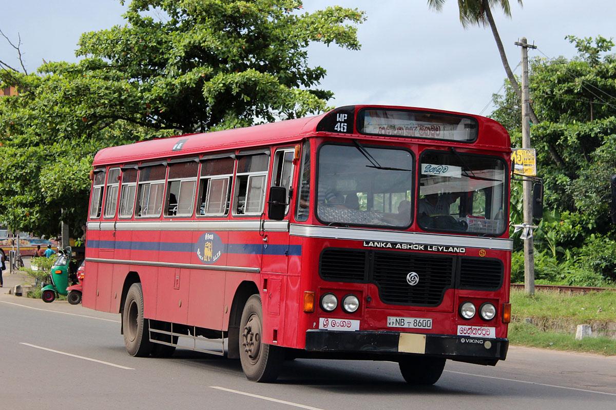 Negombo, Lanka Ashok Leyland # WP-46