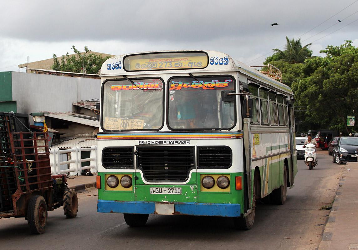 Negombo, Ashok Leyland # GU-2710