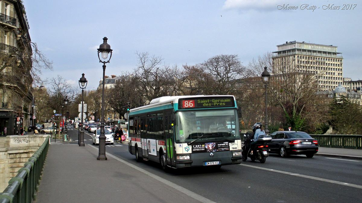 Paris, Renault Agora S # 7840