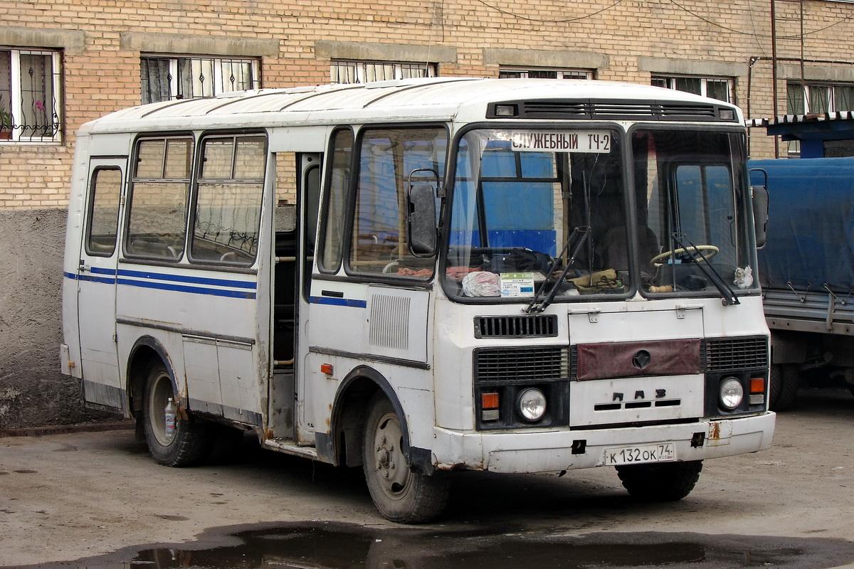 Chelyabinsk, PAZ-32053 # К 132 ОК 74