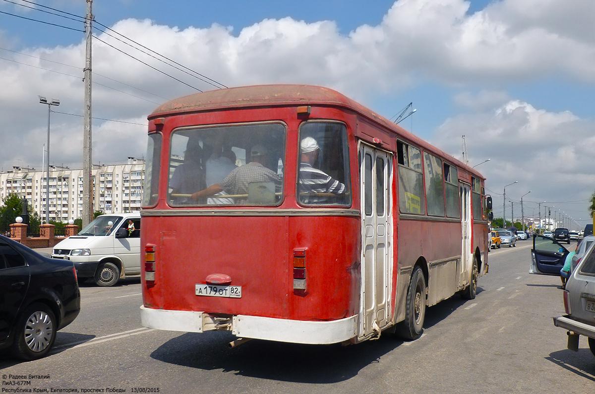 Evpatoria, LiAZ-677М # А 179 ОТ 82