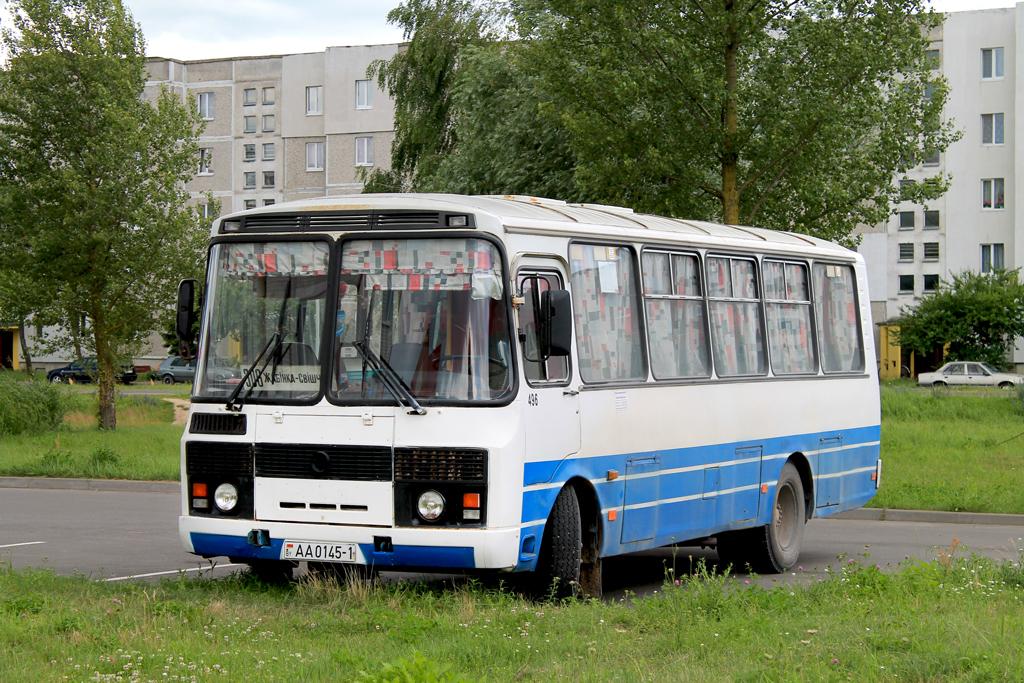 Zhabinka, PAZ-4234 # 496