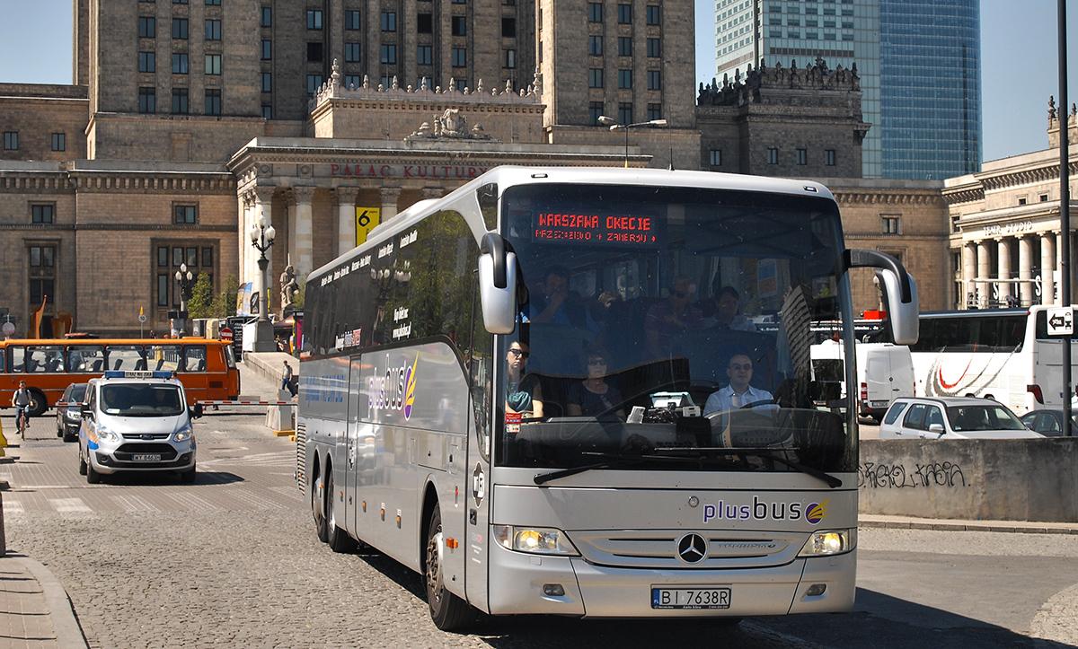Juchnowiec Kościelny, Mercedes-Benz Tourismo L 17RHD II # BI 7638R