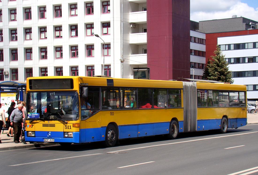 Vilnius, Mercedes-Benz O405GN # 511