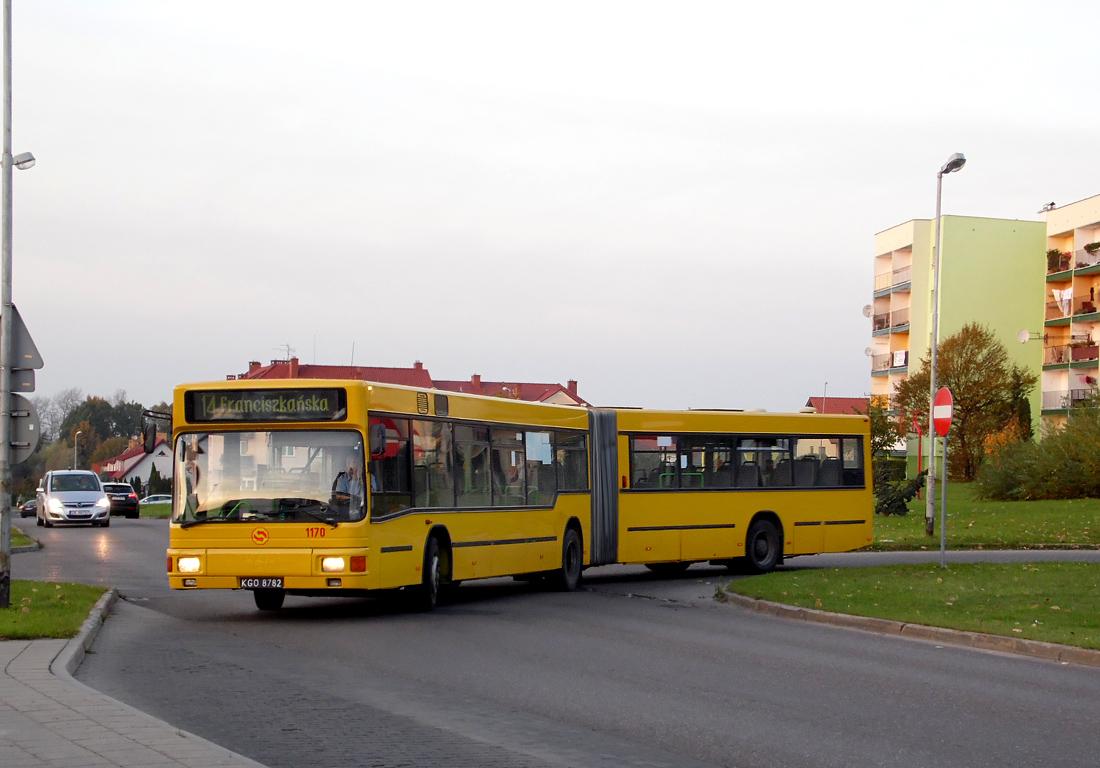 Koszalin, MAN A11 NG312 # 1170