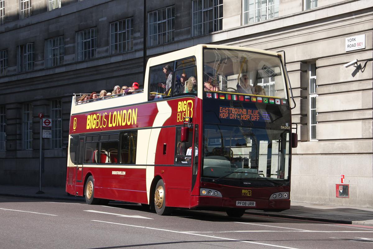 London, East Lancs Visionaire # DA202